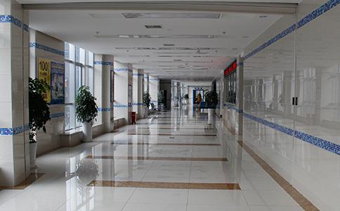 贵州白癜风皮肤病医院走廊